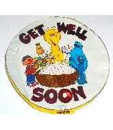 "7"" Airfill Street Get Well M281"