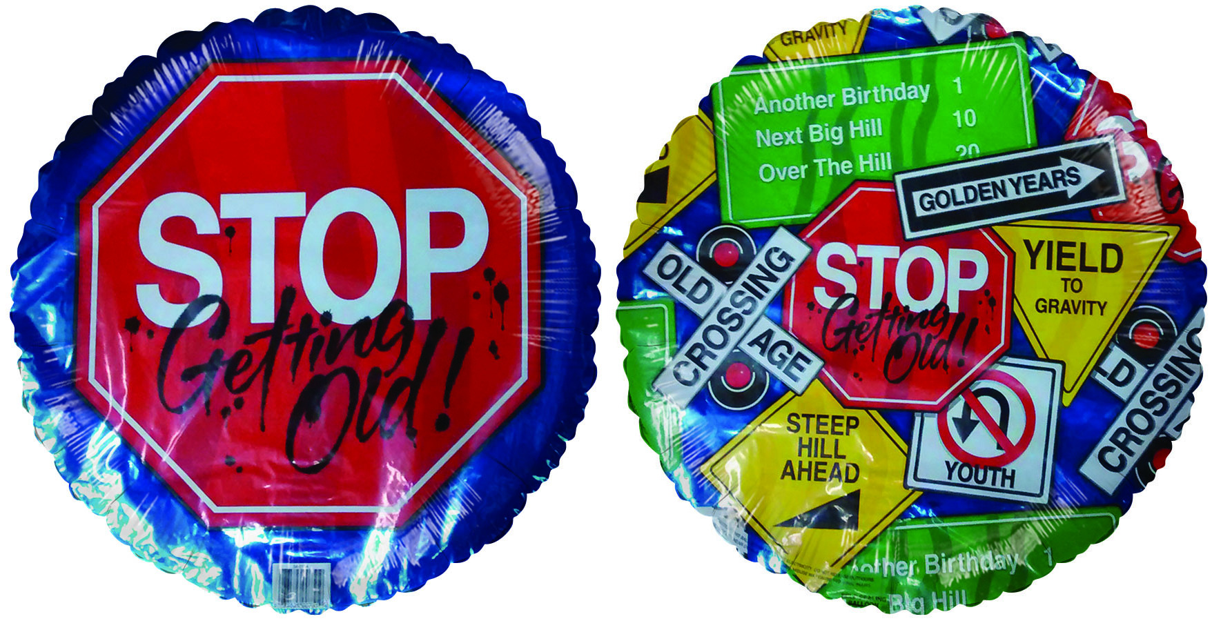 """18"""" Stop Sign Getting Old Birthday"""