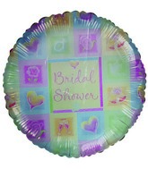 Bridal Shower Mylar Balloons