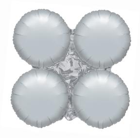 "30"" MagicArch Large Balloon Metallic Silver"