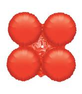 "30"" Magic Arch Large Balloon Metallic Red"