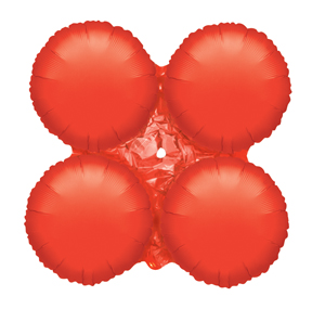 "30"" Magic Arch Large Balloon Metallic Red"