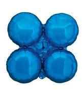 "30"" MagicArch Large Balloon Metallic Blue"