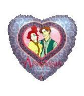 "7"" Airfill Anastasia Princess Heart M286"