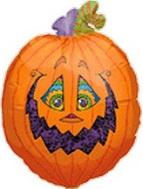 """22"""" Trickster Pumpkin"""