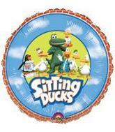 "9"" Airfill Sitting Ducks"