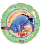 "18"" Birthday Eeyore"