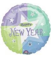 18'' Happy New Year White Star