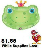 "32"" Heart Crown Eyecatcher's Frog 6B11"