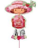 "57"" Shortcake Prsnlzd Bday Yard Sign INF5"