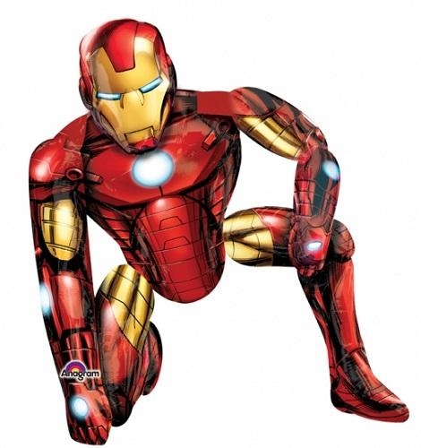 "46"" Avengers Iron Man AirWalker Balloon"