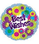 """18"""" Best Wishes Flower Wreath Box 33"""