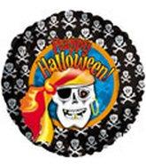 "18"" Happy Halloween Pirate"