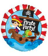 "17"" Pirate Party Foil Balloon"