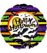 """18"""" Happy Halloween Bats"""