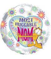 "18"" Most Huggable Mom Garfield Balloon"