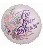 """4"""" Airfill Balloon FOR YOUR SHOWER"""