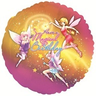 "18"" Have A Magical Birthday Fairies Balloon"
