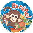 "17""  Es Nino ""Its a Boy"" Balloon"