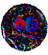 """18"""" Better than Ever 60th Birthday Stars & Streamers"""