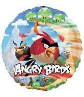 "18"" Angry Birds Mylar Balloon"