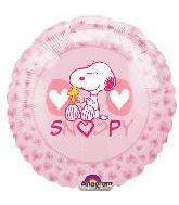 "9"" Airfill Snoopy Love Mini M715"