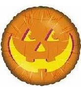 """18"""" Orange Jack-o-lantern Face"""