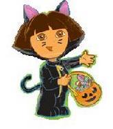 "32"" Dora The Explorer Cat"