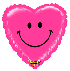 """21"""" Mighty Smile Heart"""