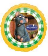 Ratatouille Movie Mylar Balloons