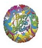 "18"" Happy 18th Birthday"