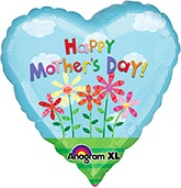 34'' Happy Mother's Day Mylar Balloon
