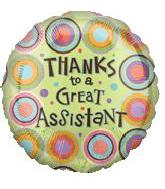 """18"""" Thanks Great Assistant Retro B110"""