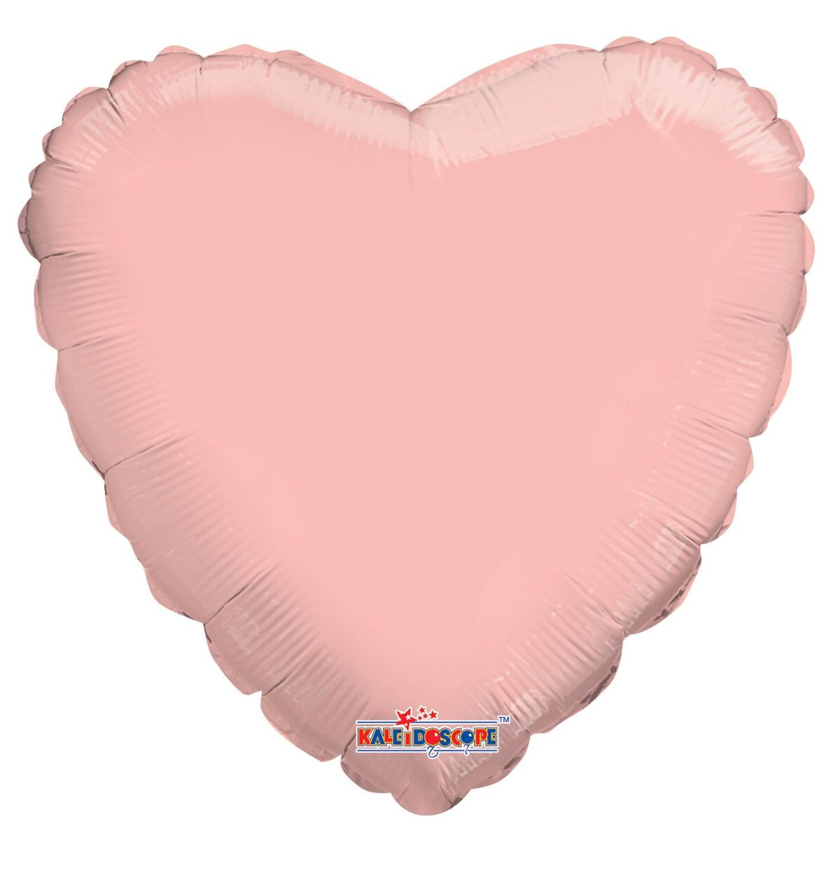"""9"""" Airfill Only Solid Rose Gold Heart Balloon"""