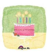 """32"""" Fancy Birthday Cake"""