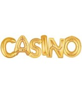 "40"" Megaloon ""Casino"" Pack Gold"