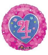 "18"" Flower Birthday #4"