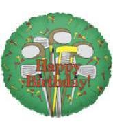"9"" Airfill Golf Club Birthday"