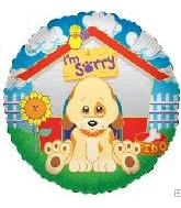 "18"" I'm Sorry Sad Puppy Dog House"