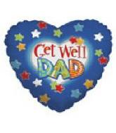 "18"" Get Well Dad Stars"