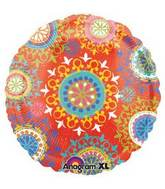 """18"""" Del Sol Motif Foil Balloon"""