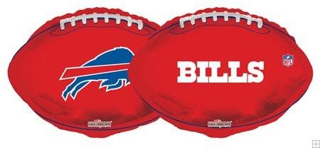 """18"""" NFL Football Buffalo Bills Balloon"""