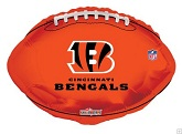 "18"" NFL Football Cincinnati Bengals Balloon"
