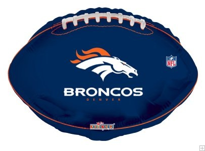 "18"" NFL Football Denver Broncos Balloon"