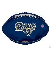 "18"" NFL Football St. Louis Rams Balloon"