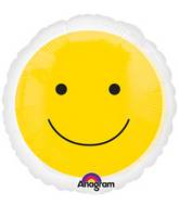 "18"" Magicolor Yellow Smiley Face"