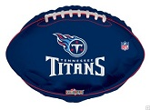 "18"" NFL Football Tenessee Tittans Balloon"