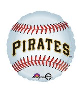 "18"" MLB Pittsburgh Pirates Baseball Balloon"