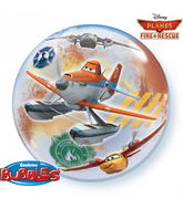 "22"" Disney Planes Fire and Rescue Bubble Balloons"