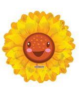 "28"" Bright Sunflower Balloon Shape"
